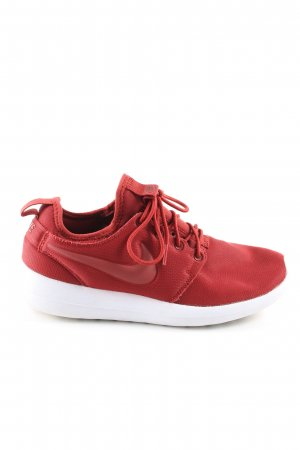 Nike Sneaker stringata rosso stile casual