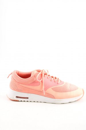 Nike Schnürsneaker hellorange Casual-Look