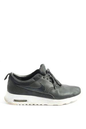 "Nike Schnürsneaker ""Nike Wmns Air Max Thea Premium Black Leather"" schwarz"