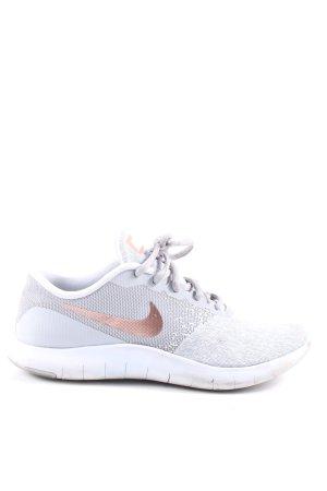 Nike Schnürsneaker hellgrau-hellorange Casual-Look