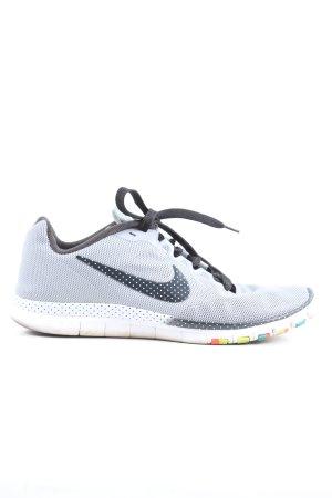Nike Schnürsneaker weiß-schwarz Punktemuster Casual-Look