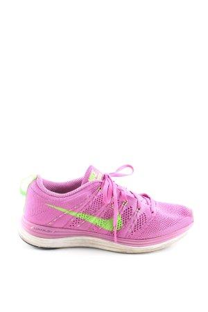 Nike Schnürsneaker pink-grün Casual-Look