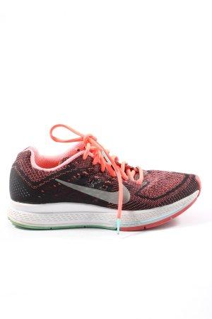 Nike Schnürsneaker schwarz-rot Farbverlauf Casual-Look