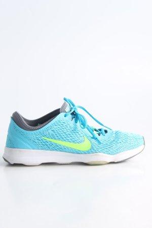 Nike Sneakers met veters turkoois casual uitstraling