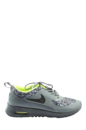 Nike Schnürsneaker hellgrau-schwarz abstraktes Muster Casual-Look