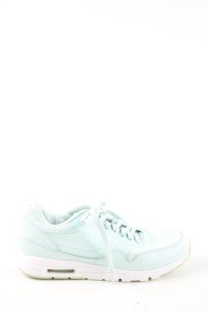 Nike Schnürsneaker türkis-weiß Casual-Look