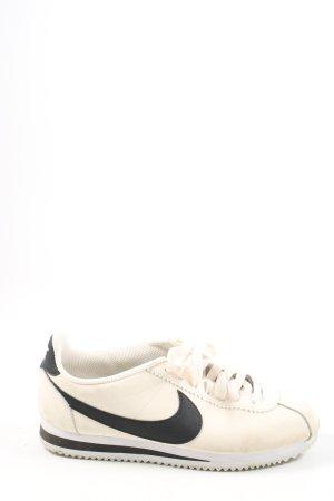 Nike Schnürsneaker creme-schwarz Casual-Look