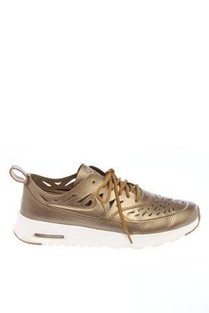 Nike Schnürsneaker bronzefarben-weiß sportlicher Stil