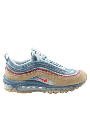 Nike Schnürsneaker blau-braun Casual-Look