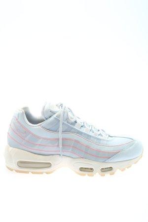 Nike Schnürsneaker blau-pink Casual-Look