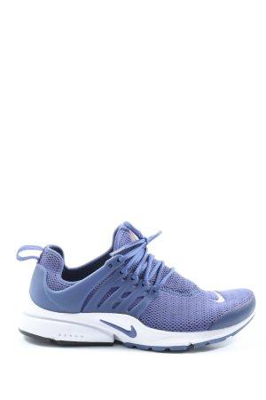 Nike Schnürsneaker blau-weiß Casual-Look