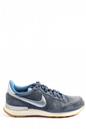 Nike Schnürsneaker blau-hellgrau Casual-Look