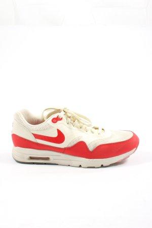 Nike Schnürsneaker weiß-rot sportlicher Stil
