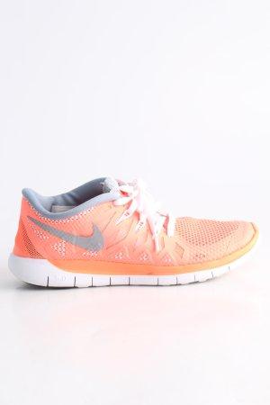 Nike Sneakers met veters licht Oranje-lichtgrijs prints met een thema