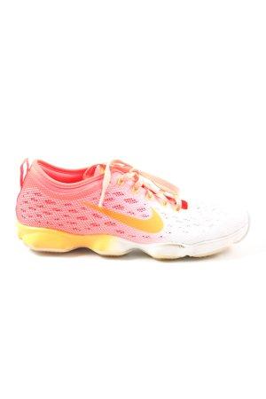 Nike Schnürsneaker pink-weiß Farbverlauf Casual-Look