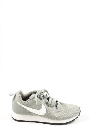 Nike Schnürsneaker hellgrau-weiß Casual-Look