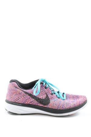 Nike Schnürsneaker pink-türkis Casual-Look