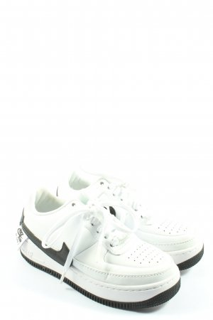 Nike Schnürsneaker weiß-schwarz Motivdruck Casual-Look