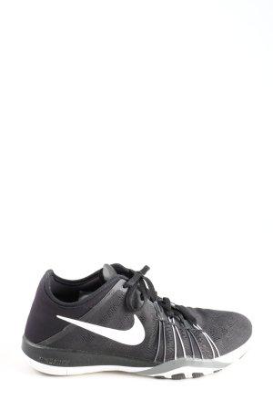 Nike Zapatilla brogue negro-blanco look casual