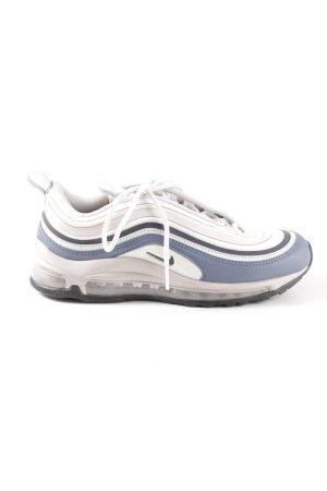 Nike Schnürsneaker altrosa-grauviolett Streifenmuster Casual-Look