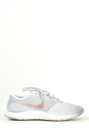 Nike Schnürsneaker hellgrau meliert Casual-Look