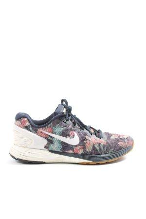 Nike Schnürsneaker Blumenmuster Casual-Look