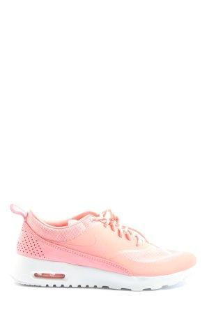 Nike Schnürsneaker pink-hellorange Casual-Look