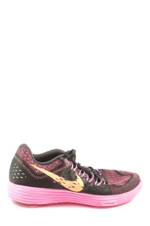Nike Schnürsneaker pink-schwarz sportlicher Stil