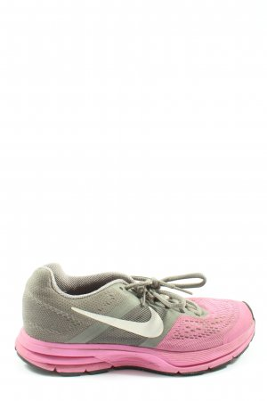 Nike Schnürsneaker pink-khaki Casual-Look