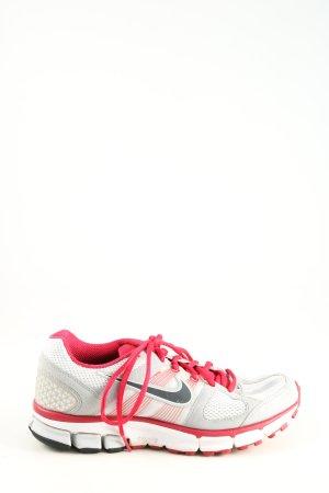 Nike Schnürsneaker rot-hellgrau Casual-Look