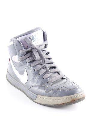 Nike Schnürsneaker blasslila-dunkelgrau Casual-Look
