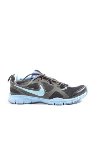 Nike Schnürsneaker blau-schwarz Casual-Look