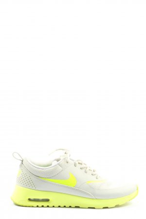 Nike Schnürsneaker hellgrau-grün Casual-Look