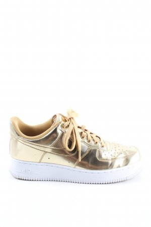 "Nike Schnürsneaker ""Air Force 1"" goldfarben"