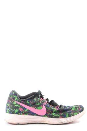Nike Schnürsneaker abstraktes Muster sportlicher Stil
