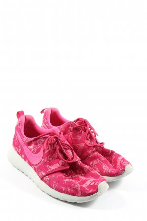 Nike Schnürsneaker pink Allover-Druck Casual-Look