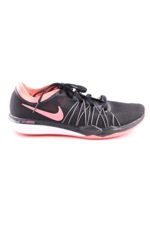 Nike Schnürsneaker schwarz pink Casual Look