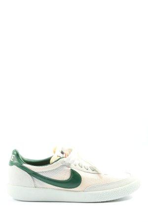 Nike Schnürsneaker wollweiß-grün Casual-Look