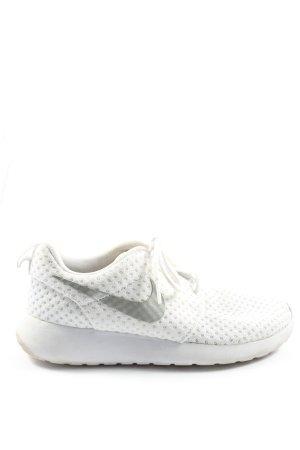 Nike Schnürsneaker weiß-silberfarben Casual-Look