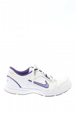 Nike Schnürsneaker weiß-blau Casual-Look
