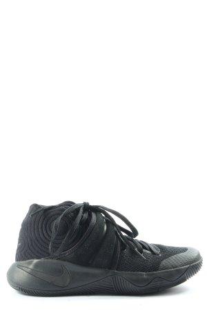 Nike Schnürsneaker schwarz-grün abstraktes Muster Casual-Look