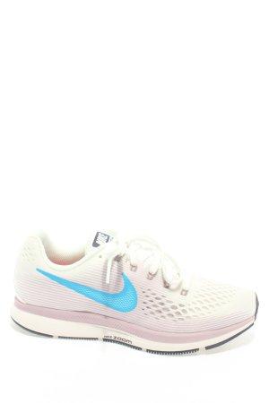 Nike Schnürsneaker hellgrau-blau Casual-Look