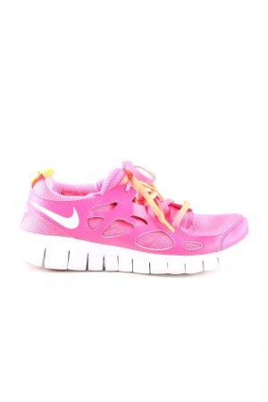 Nike Schnürsneaker pink schlichter Stil