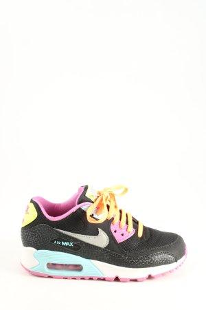 Nike Schnürsneaker schwarz-pink Casual-Look