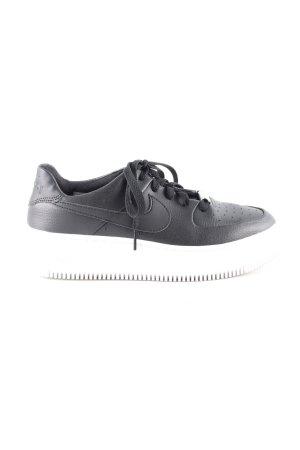 Nike Schnürsneaker schwarz weiß Casual Look