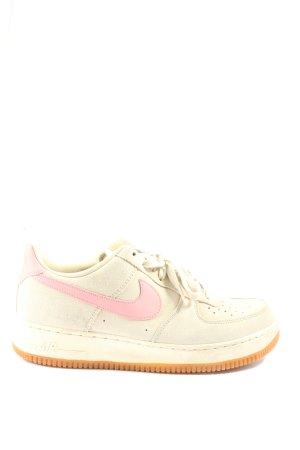 Nike Schnürsneaker wollweiß-pink Casual-Look