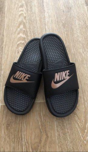 Nike Comfort Sandals black-rose-gold-coloured