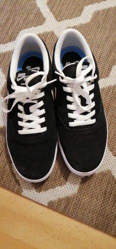 Nike Chaussure skate blanc-noir