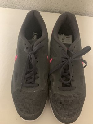 Nike Lace-Up Sneaker grey-pink