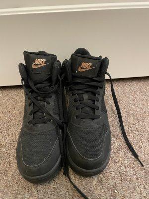 Nike Sneakers met veters zwart-roségoud
